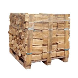 Vente palette de bois de chauffage bûches de verne ou de aulne 33 cm Bucheafeu