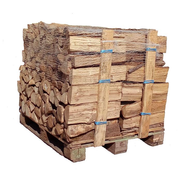 Vente palette de bois de chauffage bûches de verne ou de aulne 50 cm Bucheafeu